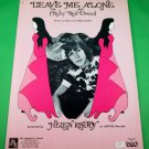 LEAVE ME ALONE (RUBY RED DRESS) Piano/Vocal/Guitar Sheet Music HELEN REDDY 1973