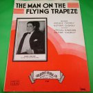 THE MAN ON THE FLYING TRAPEZE Piano/Vocal/Guitar Sheet Music ROMO VINCENT © 1935