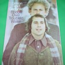 BRIDGE OVER TROUBLED WATER Piano/Vocal Sheet Music SIMON & GARFUNKEL © 1969