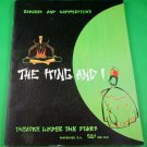 THE KING AND I Original 1958 Souvenir Program THEATRE UNDER THE STARS Vancouver
