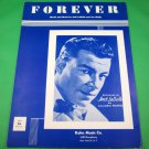 FOREVER Vintage Sheet Music JACK LA DELLE © 1954