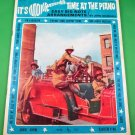 IT'S MONKEES TIME AT THE PIANO Easy Big Note Song Book 12 Songs © 1966 1967