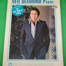 NEIL DIAMOND PIANO Systematic Graduated Piano Method by Marty Gold © 1979