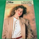 AMY GRANT GREATEST HITS E-Z Play Today Song Book #224 © 1980's 22 Songs PHOTOS
