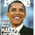 PEOPLE WEEKLY MAGAZINE November 17, 2008 BARACK OBAMA MAKES HISTORY Beyonce