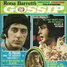 RONA BARRETT'S GOSSIP May 1974 ELVIS PRESLEY Al Pacino JOHN LENNON Steve McQueen