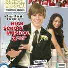 Disney HIGH SCHOOL MUSICAL 3 SENIOR YEAR The Official Magazine October 2008 NEW!