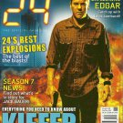 24 THE OFFICIAL MAGAZINE Issue #10 November/December 2007 KIEFER SUTHERLAND