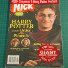 NICK MAGAZINE August 2007 Harry Potter & Order of Phoenix POSTERS Sealed Copy!