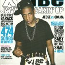 VIBE MAGAZINE XVIBE September 2008 Special 15th Anniversary Juice Issue JAY-Z