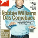 STERN MAGAZINE September 24, 2009 ROBBIE WILLIAMS COMEBACK Interview & Pictorial