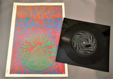FREAK BEAT MAGAZINE Issue #4 w/ Flexi Disc THE STEPPES Bevis Frond