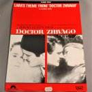 "LARA'S THEME FROM ""DOCTOR ZHIVAGO"" Sheet Music OMAR SHARIF Julie Christie 1965"