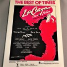THE BEST OF TIMES Piano Vocal Guitar Sheet Music from LA CAGE AUX FOLLES 1983