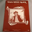 BACK HOME AGAIN Piano Vocal Guitar Sheet Music JOHN DENVER 1974 Cover Photo