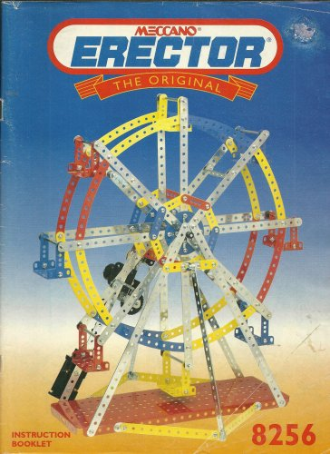 "MECCANO ERECTOR ""The Original"" Instruction Booklet #8256 1994"