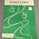 HONEYCOMB Sheet Music by Bob Merrill © 1954