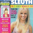 CELEBRITY SLEUTH MAGAZINE Volume 14 Number 3 © 2001 BRITNEY SPEARS