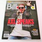 BILLBOARD MAGAZINE February 14, 2009 AXL ROSE Guns N' Roses