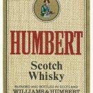 HUMBERT Scotch Whisky Label
