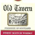 OLD TAVERN Finest Scotch Whisky Label
