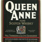 QUEEN ANNE Rare Scotch Whisky Label