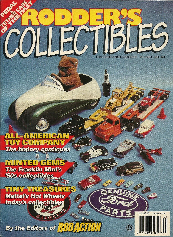 RODDER'S COLLECTIBLES MAGAZINE Challenge Classic Car Series Volume 1 1994