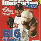 SI SPORTS ILLUSTRATED FOR KIDS jULY 2007 JOHAN SANTANA - 9 Card Sheet NEW!