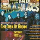 METAL MANIACS MAGAZINE April 2001 CHILDREN OF BODOM Cryptopsy