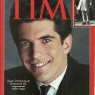 TIME MAGAZINE COMMEMORATIVE ISSUE Canadian Edition July 26, 1989 John F. Kennedy Jr.