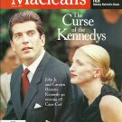MACLEAN'S MAGAZINE July 26, 1999 JFK Jr. The Curse of The Kennedys