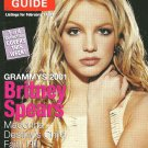 TV GUIDE MAGAZINE February 17-23, 2001 BRITNEY SPEARS COVER New Unread Copy!