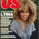 US September 8, 1986 Bronson Pinchot TINA TURNER Benazir Bhutto