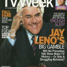 TV WEEK MAGAZINE September 26 to October 2, 2009 JAY LENO Jeff Probst