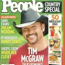 PEOPLE COUNTRY SPECIAL MAGAZINE September 2008 TIM McGRAW Cheryl Crow RANDY TRAVIS