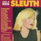 CELEBRITY SLEUTH WOMEN OF ROCK MAGAZINE Volume 3 © 1986 DEBORAH HARRY Madonna
