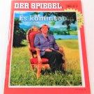 DER SPIEGEL MAGAZINE Collector's Issue LENTICULAR COVER Angela Merkel & Frank-Walter Steinmeier