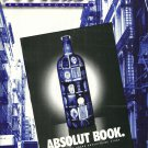 NY Soho Arts Magazine September 1996 ABSOLUT BOOK & ABSOLUT WESTWOOD GALLERY Ads