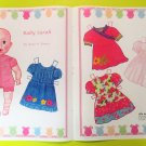 BABY SARAH Magazine Paper Dolls by Anne K. Donze - 2 PAGES