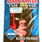 JUDGE DREDD THE MOVIE Collector's Cards © 1995 SEALED PACK!