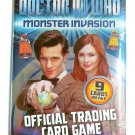 DOCTOR WHO MONSTER INVASION Trading Card Game Sealed Booster Pack of 9 Cards