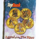 LEGEND OF THE FIVE RINGS Sealed Demo Booster Pack of 20 Cards