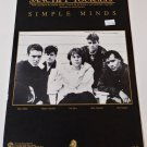 SANCTIFY YOURSELF Piano/Vocal/Guitar Sheet Music SIMPLE MINDS © 1986