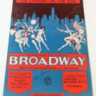 THE CHICKEN OR THE EGG Piano/Vocal/Guitar Sheet Music BROADWAY © 1929
