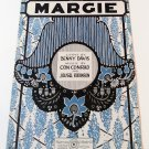 MARGIE Piano/Vocal Sheet Music CON CONRAD © 1920