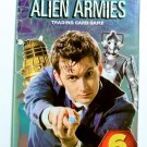 DOCTOR WHO ALIEN ARMIES Panini Trading Card Game Pack of 6 Cards