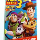 TOY STORY 3 HIDE & SEEK Trading Card Game Sealed Pack of 6 Cards