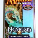 MAGIC THE GATHERING NEMESIS Sealed Booster Pack 15 Cards