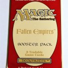 MAGIC THE GATHERING FALLEN EMPIRES Sealed Booster Pack 8 Cards