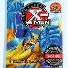 X-MEN Fleer Trading Cards Sealed Pack of 6 Marvel Cards 1996